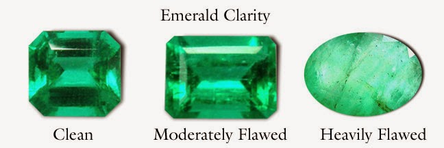 Emerald Qualities Chart