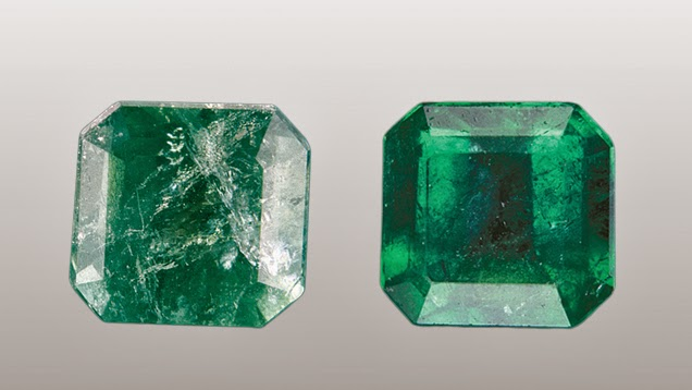 Emerald Gems after Treatments