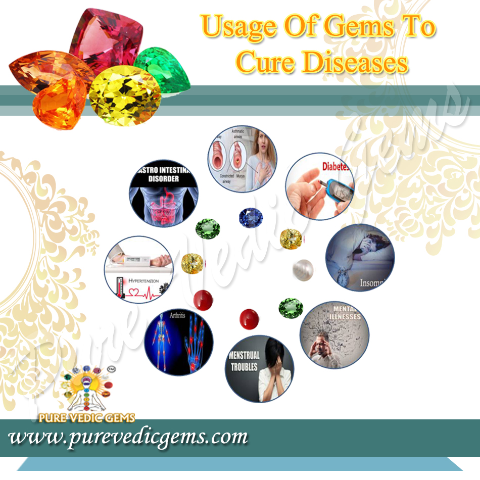 usage gems cure diseases