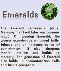 gemstone Emeralds benefits