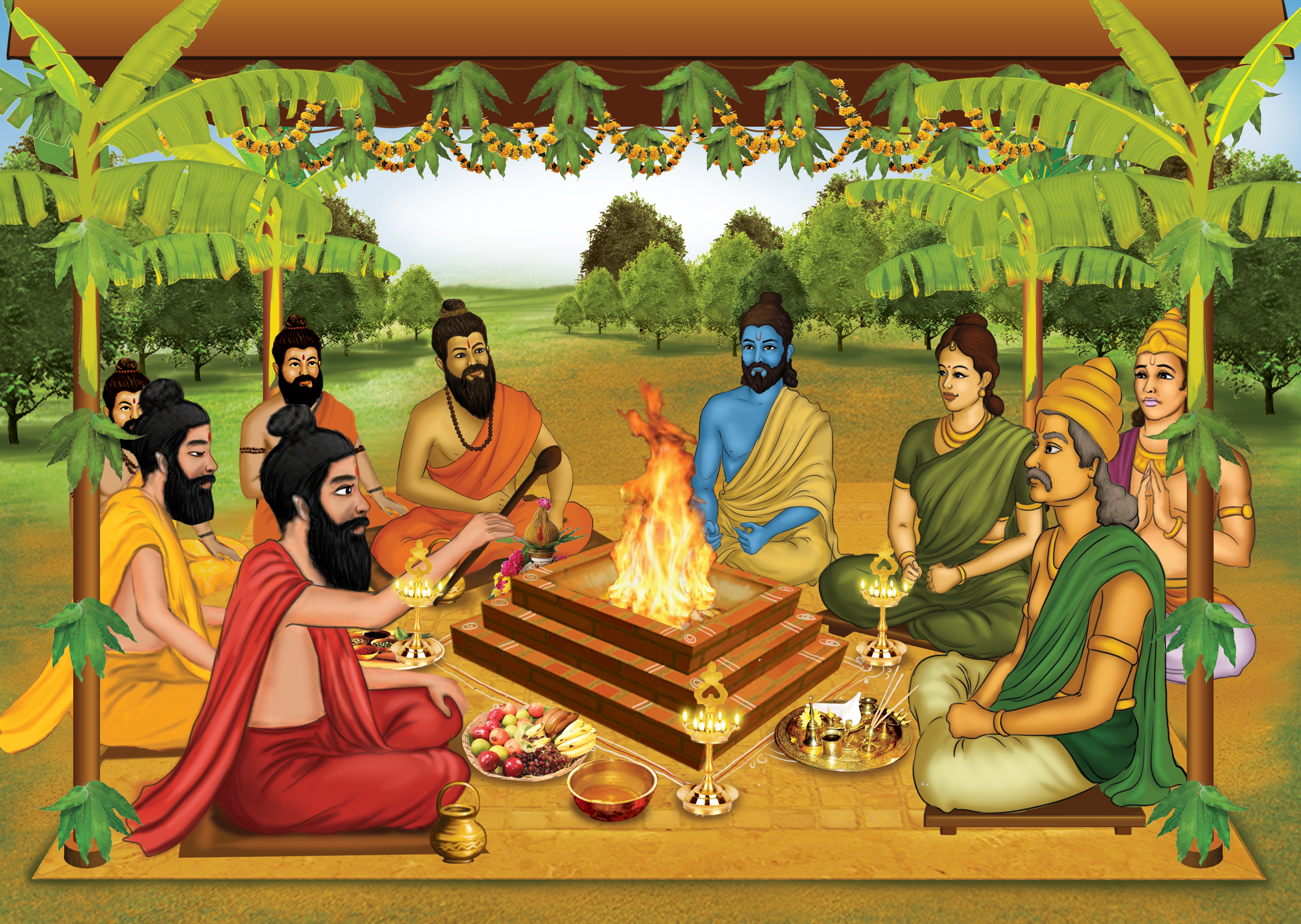 The Vedic Destiny Healing Remedies - Yagya