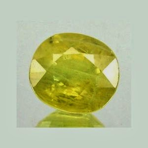 Treated Yellow Sapphire