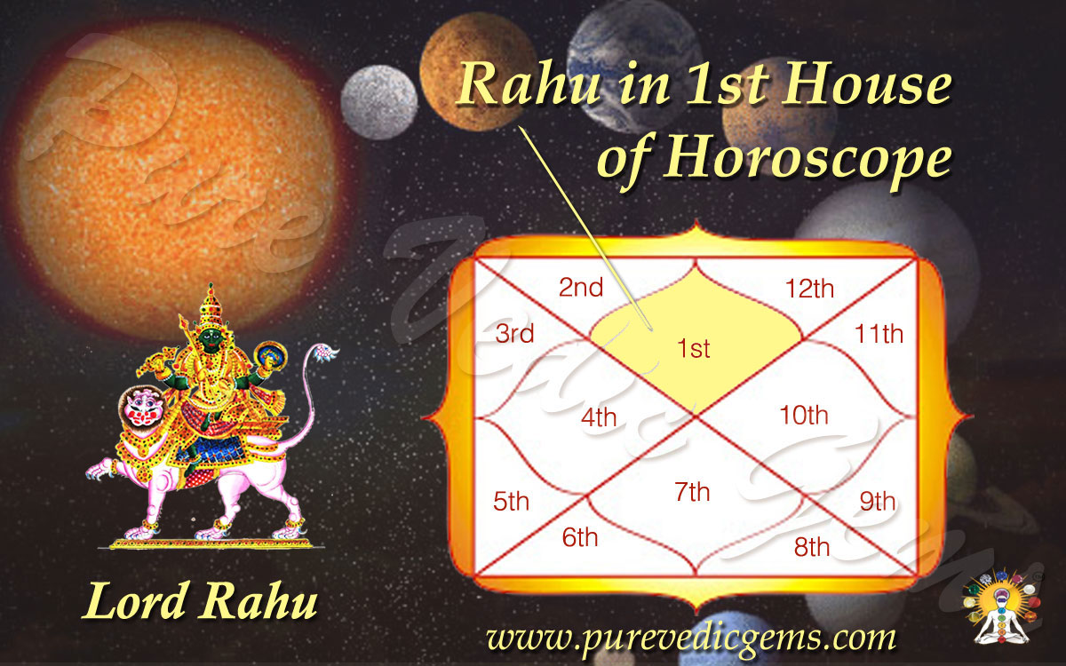 Benefits/Characteristics of Rahu in 1st House of Horoscope