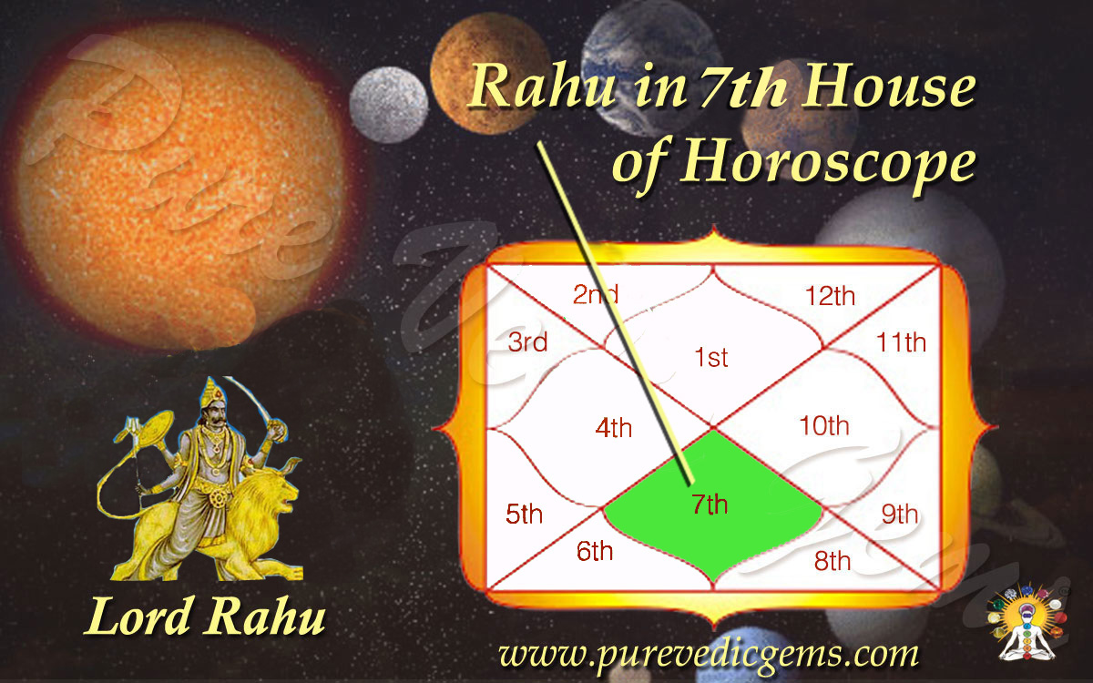 Benefits of Rahu in 7th House of Horoscope-