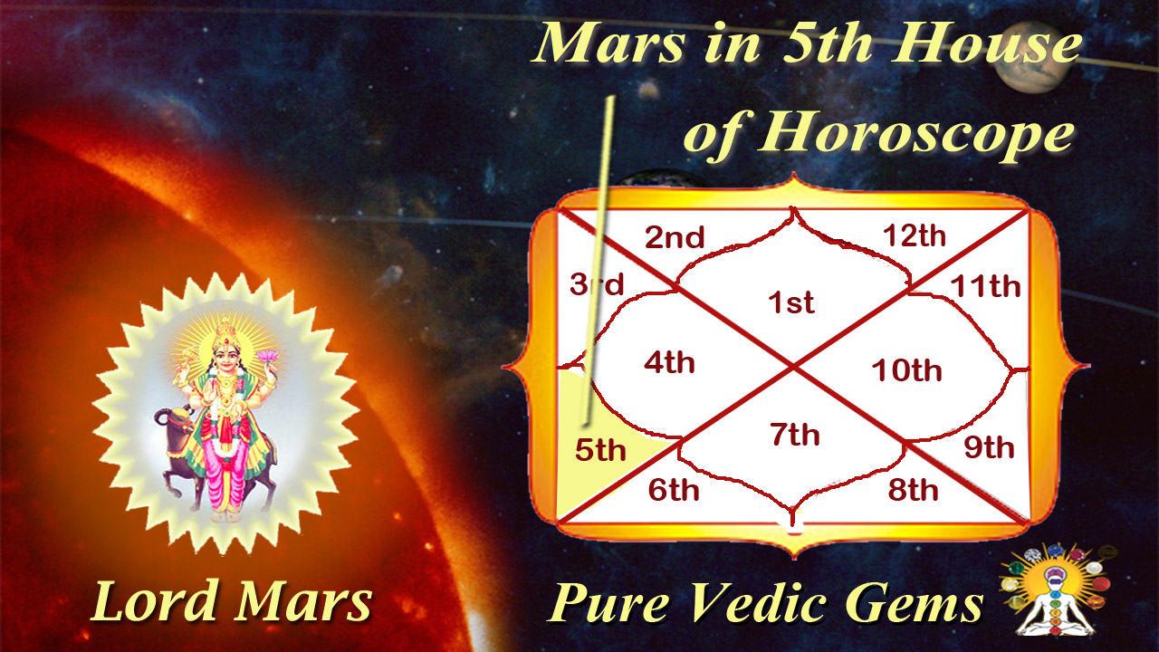 mars horoscope article 5th house