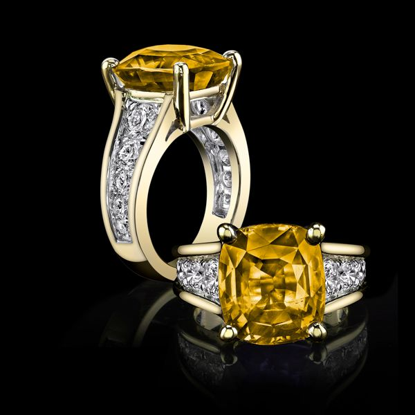 Yellow sapphire c Vedic in Astrology (Lord Brihaspati)