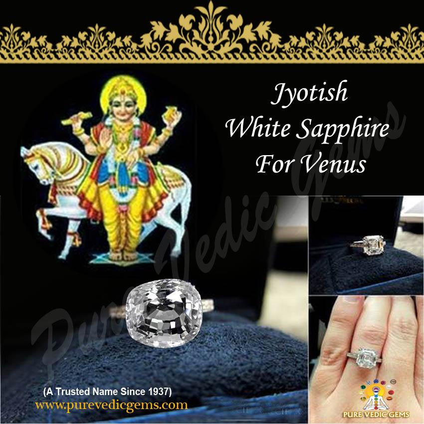 White Sapphire for Venus
