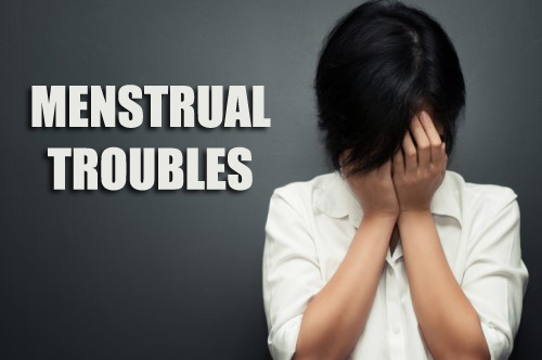 MENSTRUAL TROUBLES
