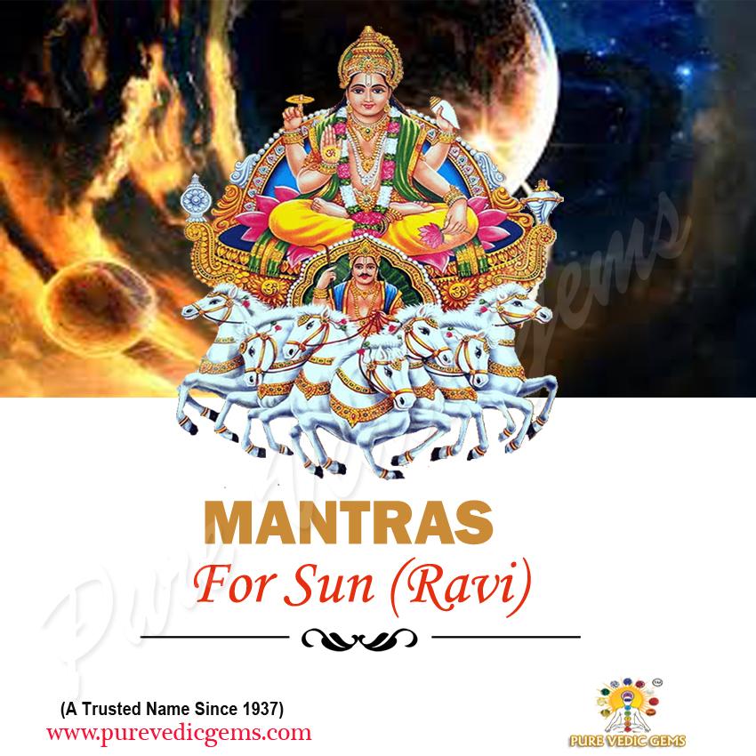 Mantras for Sun