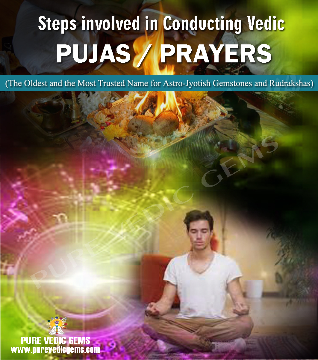 Steps involved in Conducting Pujas-Prayers