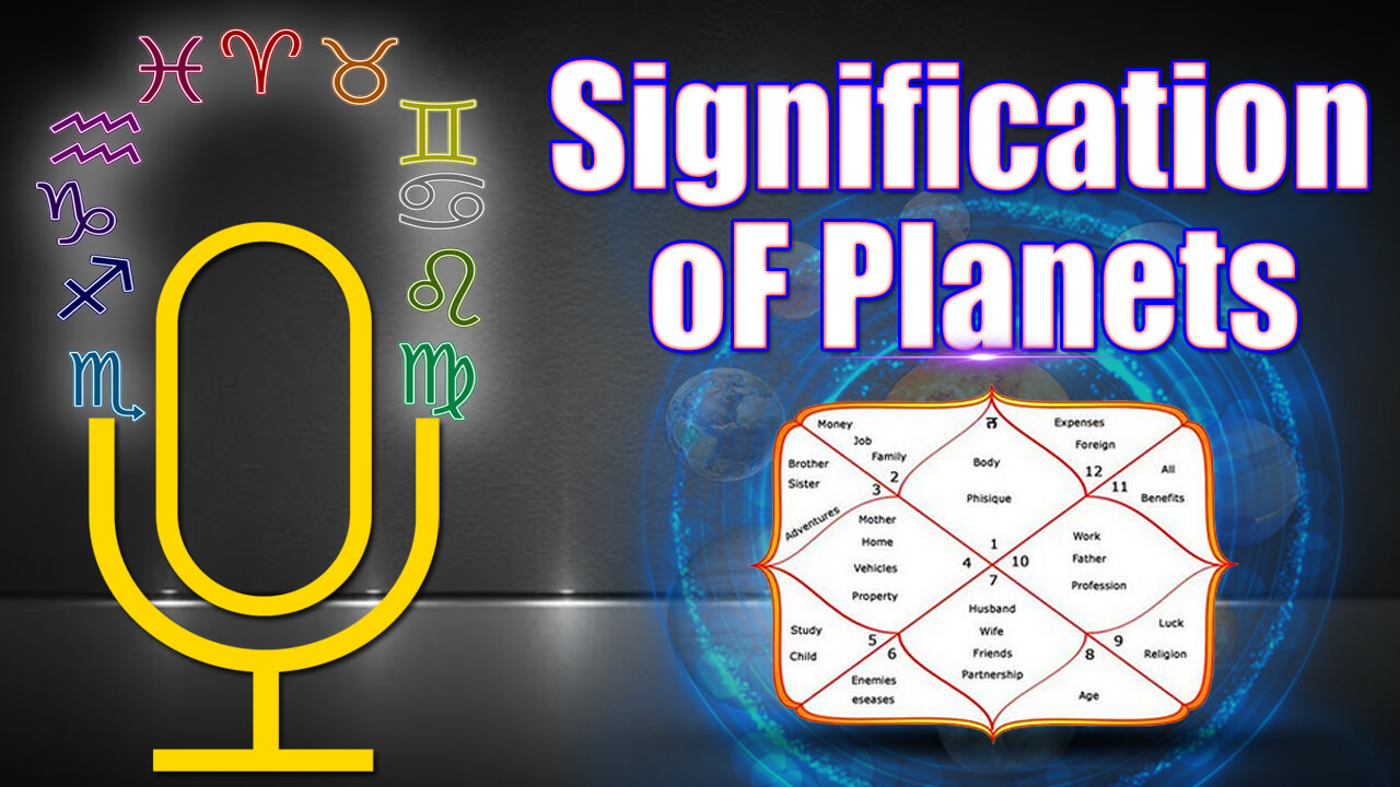 Signification of Planets